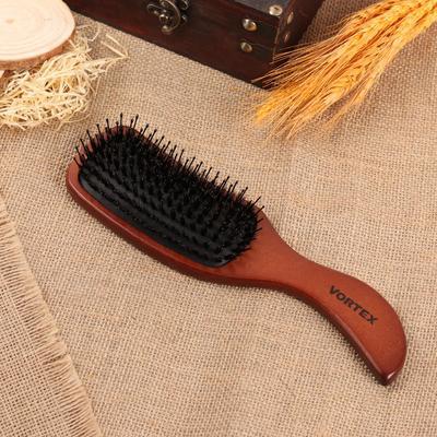 Расчёска массажная, цвет «тёмное дерево» - Фото 1