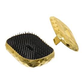 Расчёска массажная  Vortex «Кристалл», с крышкой