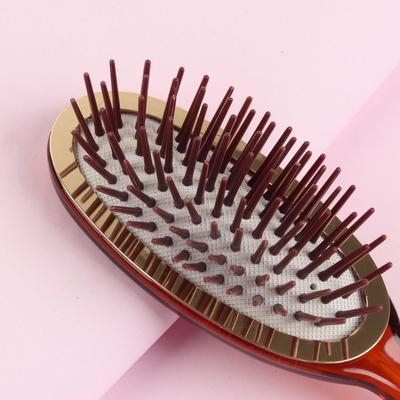 Расчёска массажная, цвет «янтарь» - Фото 1