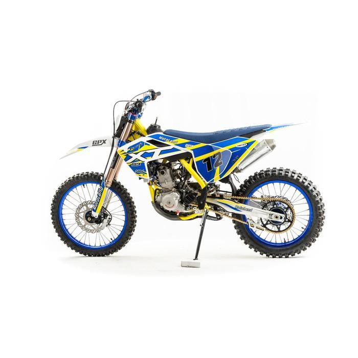 Кроссовый мотоцикл MotoLand XT250 ST-NC, синий