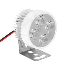 Фара cветодиодная для мототехники, 9 LED, IP65, 4.5 Вт, направленный свет Ош