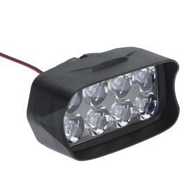 Фара cветодиодная для мототехники, 8 LED, IP67, 8 Вт, направленный свет Ош