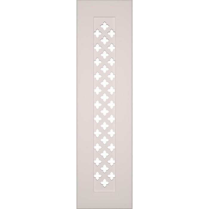Боковина для экрана, Готико Белый 600x160
