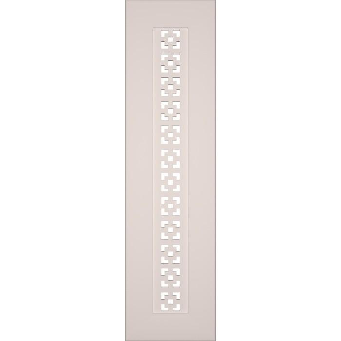 Боковина для экрана, Дамаско Белый 600x160