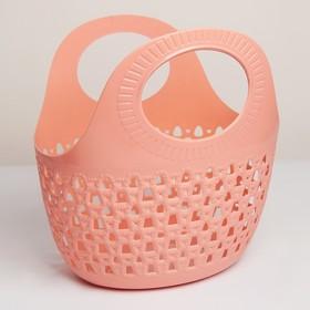 Корзина-сумка для хранения «Макраме», 31×24,7×30,5 см, цвет МИКС