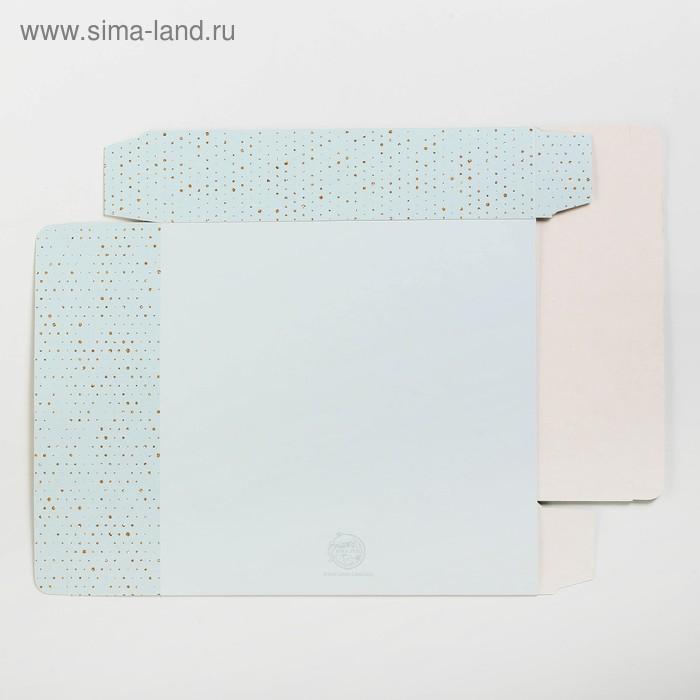 Коробка складная «Нежность», 20 х 20 х 5 см
