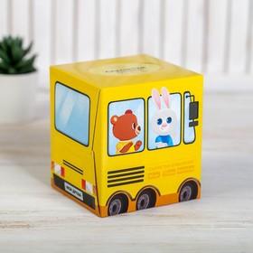 Салфетки бумажные в коробке 'Автобус', 80 шт. Ош