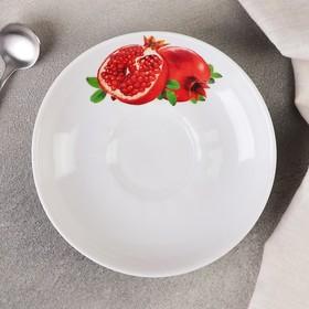 Блюдце «Гранат», d=15 см