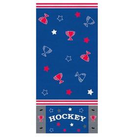 Полотенце «Хоккей», размер 33 х 70 см