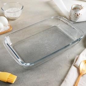 Форма для запекания прямоугольная, 2,2 л, 35×21 см