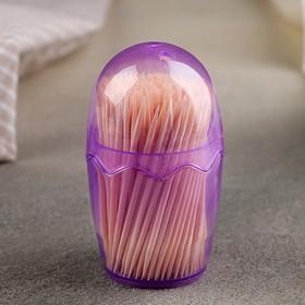 Зубочистки 180-200 шт, мягкая упаковка, цвет МИКС Ош