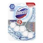Блок для чистки унитаза Domestos Power 5 «Ледяная лавина», 55 г