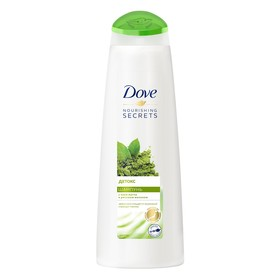 Шампунь Dove «Детокс», с матча и рисовым молоком, 380 мл