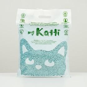 Целлюлозный наполнитель KATTI, с комплексом бактерицидных препаратов, 8л Ош