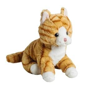 Мягкая игрушка «Кот», рыжий, 20 см