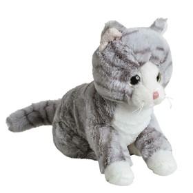 Мягкая игрушка «Кот», серый, 20 см