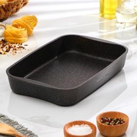 Противень Granit Ultra, 335×220×55 мм, антипригарное покрытие