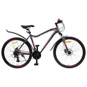 Велосипед 26' Stels Miss-6100 D, V010, цвет серый, размер 19' Ош