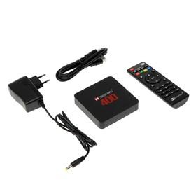 Приставка Смарт ТВ Digifors Smart 400, 2Гб, 16Гб, Android, 4K, Wi-Fi, HDMI, черная Ош