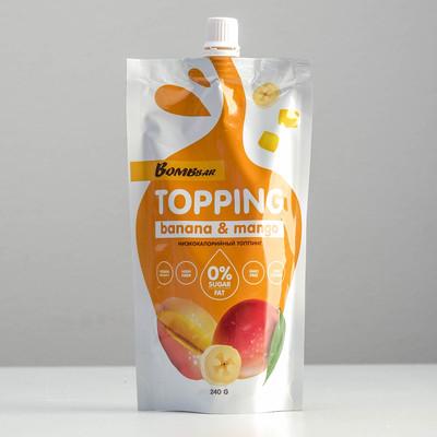 Топпинг BOMBBAR, банан-манго, 240 г