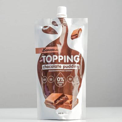 Топпинг BOMBBAR, шоколадный пудинг, 240 г