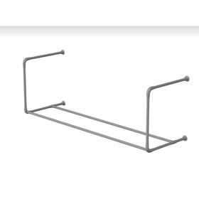 Консоль для фитболов  2 метра (1 уровень), цвет серый Ош