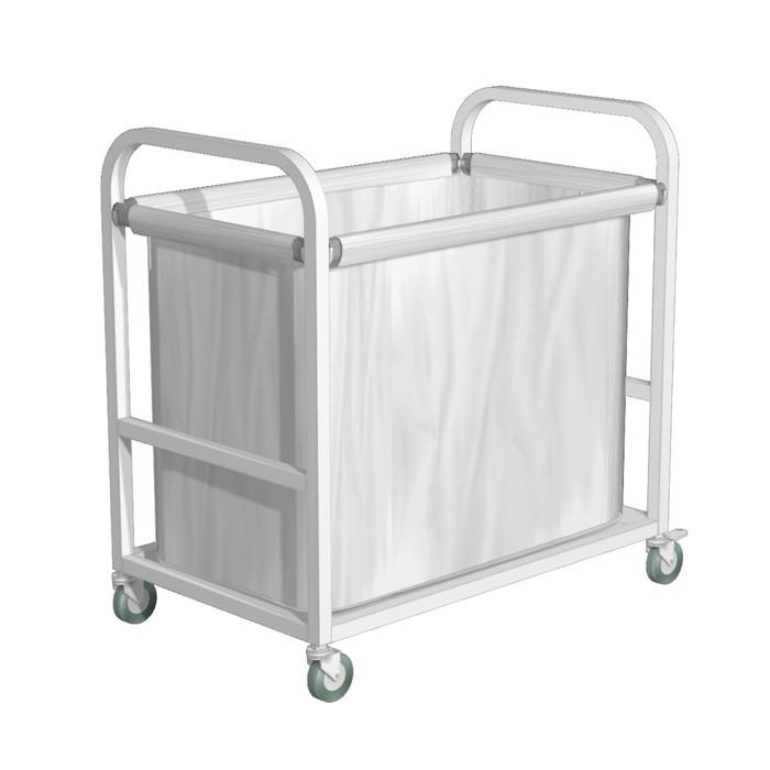 Тележка для белья 800*500*850, 1 мешок, цвет белый