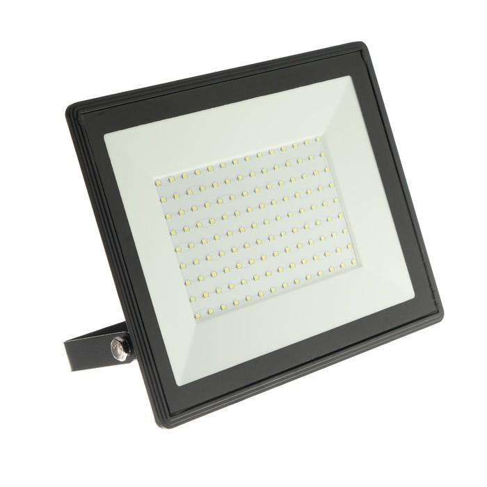 Прожектор светодиодный IN HOME СДО-8, 100 Вт, 230 В, 9500 Лм, 6500 К, IP65, холодный белый