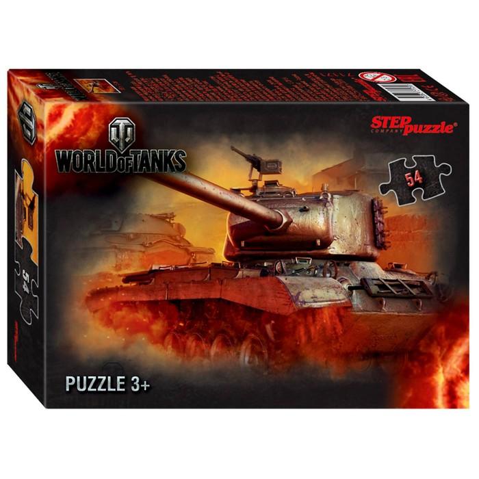 Пазл World of Tanks, 54 элемента