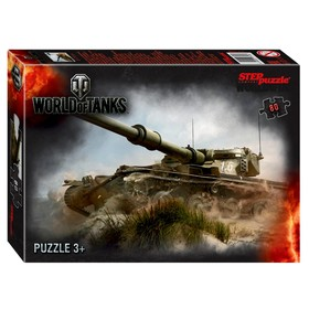 Пазл World of Tanks, 80 элемента