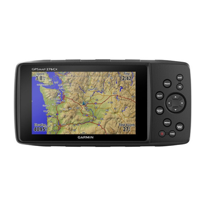 "GPS-навигатор Garmin GPSMAP 276CX (NR010-01607-03R6), 5"", GPS, ГЛОНАСС, черный"