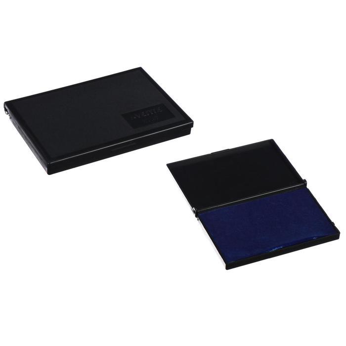Настольная штемпельная подушка, 110 х 70 мм, Attomex, синяя