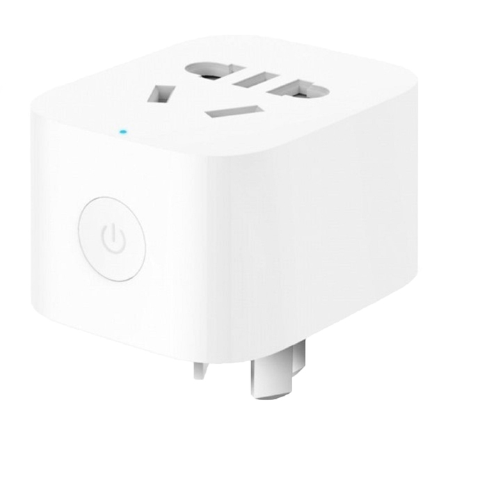 Умная розетка Xiaomi Mija Mi Smart Plug Basic, EU VDE, Wi-Fi, белая (ZNCZ04CM)