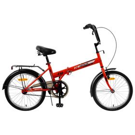 Велосипед 20' Novatrack TG30, 2020, цвет красный Ош
