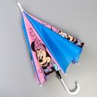 Зонт детский, Минни Маус Ø 70 см - Фото 5
