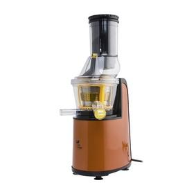 Соковыжималка Kitfort КТ-1102-1, шнековая, 150 Вт, 60-70 об/мин, оранжевая