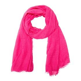 Палантин женский текстильный, цвет розовый, размер 75х180