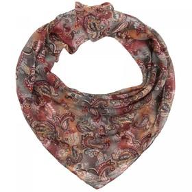 Платок женский текстильный, цвет разноцветный, размер 96х96