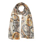 Шарф текстильный женский, цвет разноцветный, размер 27х150