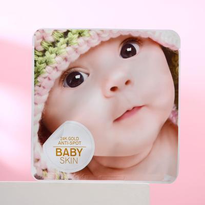 Маска тканевая Baby skin для лица, увлажняющая - Фото 1