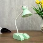 Лампа настольная 23762/1 LED 4Вт USB АКБ зеленый 18х9,5х30 см