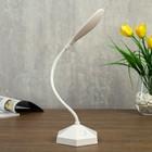 Лампа настольная 23768/1 LED 4Вт USB АКБ белый 9х10х36 см