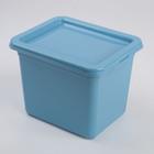 Ящик для хранения Helsinki, 2,5 л, цвет туманно-голубой