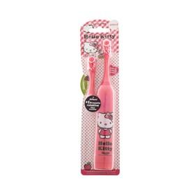 Зубная щётка Hello Kitty tHK-21, вибрационная, мягкая, доп. насадка, 2хААА (в комплекте)