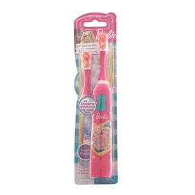 Зубная щётка Barbie tBr-21, вибрационная, мягкая, доп. насадка, 2хААА (в комплекте) Ош
