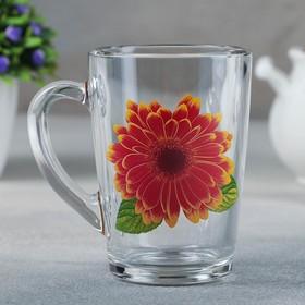 Кружка «Каппучино. Коллекция цветов», 300 мл, рисунок МИКС