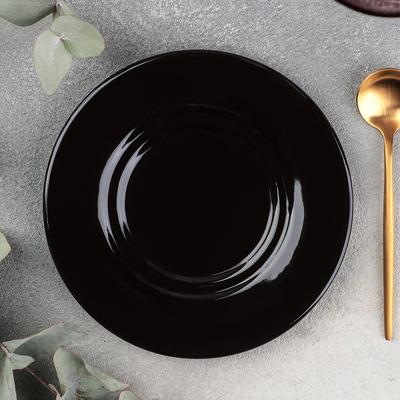 Блюдце универсальное Rosa nero, d=15 см - Фото 1