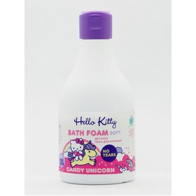Пена для купания детская Hello Kitty Candy Unicorn 7 трав, 250 мл