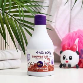 Гель для купания детский Hello Kitty Chocolate love c алоэ, 250 мл