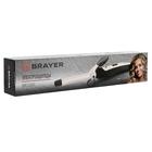 Плойка BRAYER 3201BR, 25 Вт, керамическое покрытие, d=19 мм, 210°C, чёрно-серебристая - Фото 4